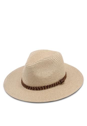 Call It Spring beige Kringel Hat Fedora 395CFAC5F72C42GS_1