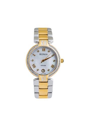 BONIA gold and silver Bonia BP10376-2153S - Jam Tangan Wanita - Silver Gold 229B2ACE1534CDGS_1