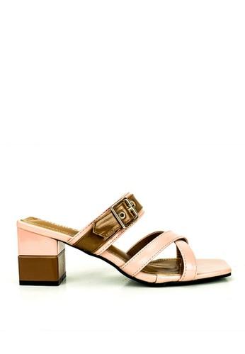 Mario D' boro Runway pink Julie Sandals 0B6B6SHF774A3CGS_1