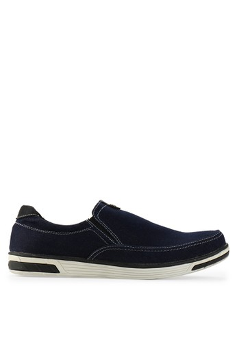Sneakers Shoes black and navy Denny Slip On SN532SH59VKMID_1