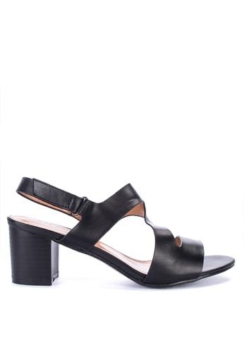 e857e70abc8 Shop Alberto Chunky Heeled Sandals Online on ZALORA Philippines