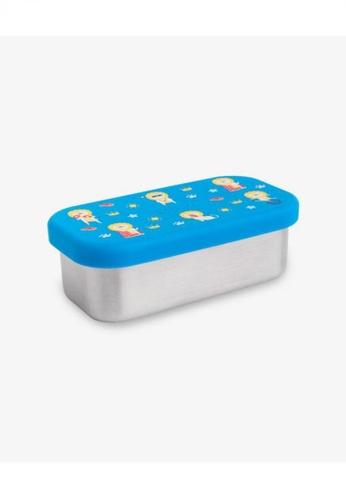 Viida [VIIDA] The Joy Series Karrie Stainless Steel Lunch Box (Small) Luis Blue,with Leak-proof lid - LFGB Germany Certified Safe 1BD34HL7488241GS_1