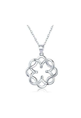 A-Excellence white Premium Elegant White Sliver Necklace 0D38FACEE95EDEGS_1