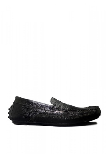 D-Island black D-Island Shoes Casual Slip On Oxford Genuine Leather Black EA39BSHDFBCB45GS_1