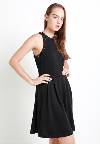 Leline Style black Brynn Black Dress 73DB5AA319ED4CGS_1