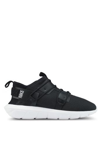 Nike black and white Nike Vortak Shoes 300D7SHFA26F0BGS_1