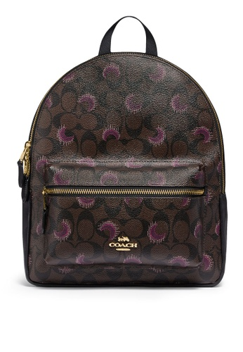 Coach brown and purple Medium Charlie Backpack (cv) 47300AC814990EGS_1