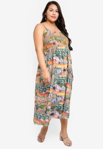 0389f7f9e7d Buy Junarose Plus Size Leone Midi Dress Online on ZALORA Singapore