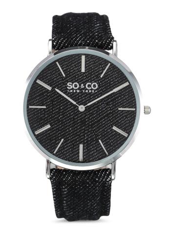 SO&CO black Soho Watch 5103 SO540AC0SHMEMY_1