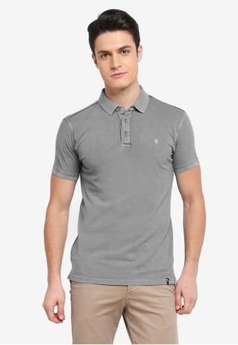 Indicode Jeans blue Abbortsford Washed Polo Shirt 9DE70AA2B0EC77GS_1