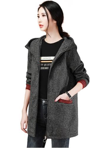A-IN GIRLS multi Fashion Hooded Warm Jacket 74612AA2A8277EGS_1