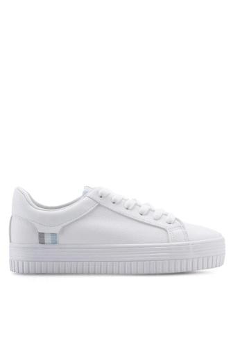 Twenty Eight Shoes Basic Platform Lace Up Sneakers 8057 5C359SHD5B494CGS_1