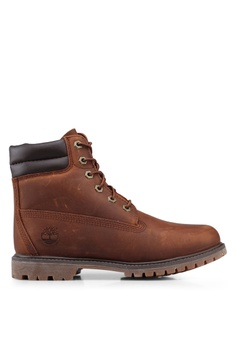 bb3a6995593 Timberland brown Waterville 6-Inch Waterproof Boots 3F1FCSH07B05C0GS 1