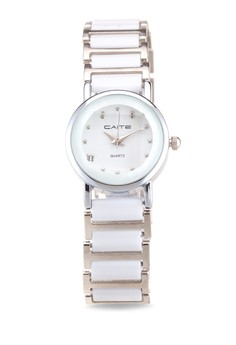 Ceramic Stainless Analog Watch Y709L