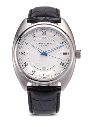 Stuhrling Original black Stuhrling Aristocrat Watch 728.01 76A7AACA6FC639GS_1