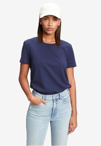 GAP 海軍藍色 100% Organic 棉 Vintage T-襯衫 60E0CAA8CA53F4GS_1