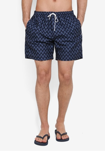 Cotton On navy Swim Shorts 71560AAF22627EGS_1