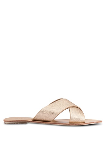 Billini gold Majorca Sandals BI606SH0RT2VMY_1