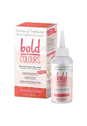 Tints of Nature Tints of Nature Bold Colours Semi-Permanent Color Dye 70ml (Rose Gold) B5DDABE0BC302FGS_1