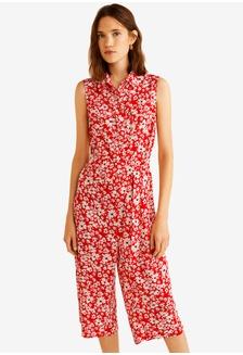 76398b0f051 Floral Print Jumpsuit 24A25AAD4D30F3GS 1
