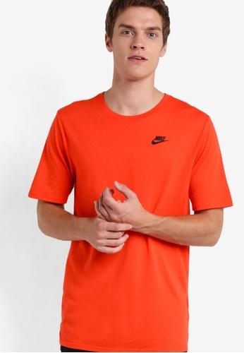 Nike black AS Men's Nike Droptail Bonded Mesh Tee NI126AA48LKLMY_1