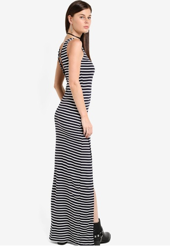 Buy ONLY ONLY ONE Striped Maxi Dress Online | ZALORA Malaysia