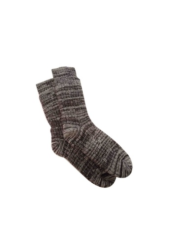 Universal Traveller brown Universal Traveller Men Thermal Socks With Fur Lining - SKC 9265 1B646AA15F6586GS_1