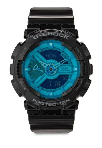 G-Shockesprit 品牌 GA-110B-1A2DR 男性手錶, 錶類, 飾品配件