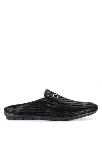 Wade black Driving Shoes 381C2SHF08BCEFGS_1