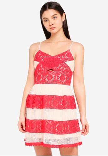 Foxiedox multi Ophelia Mini Dress 0CC92AAF2DE35CGS_1