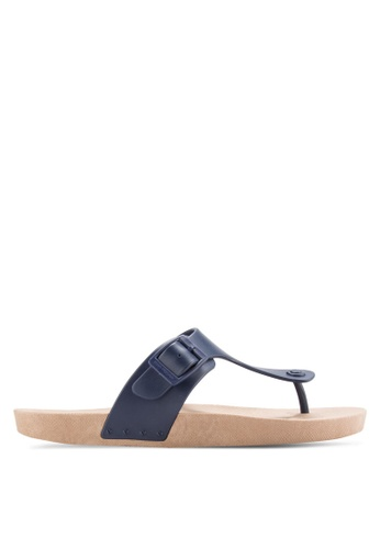 Hush Puppies blue Hush Puppies Men's Bricks Sandal - Blue FEACCSHB84EBCFGS_1
