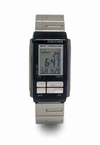 Fortuner silver Fortuner Watch Jam Tangan Wanita FR JA 462 - Black Silver 17BC3AC541F8B5GS_1