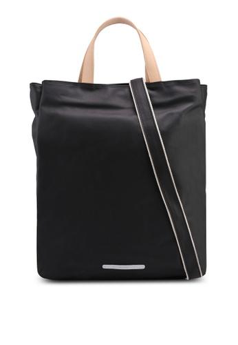 Rawrow black Rugged 206 Triple Tote Bag 10F73AC18673CAGS_1