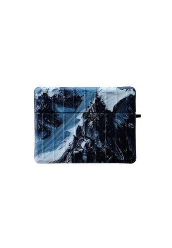 Kings Collection blue Snow Mountain AirPods Pro Case (KCAC2159P) 353EBAC764B2E6GS_1