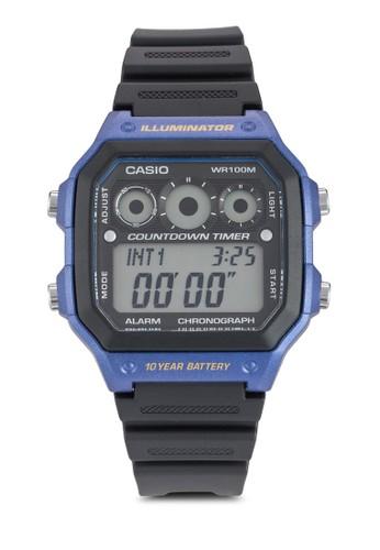 方框電子運動手錶, 錶類, 飾esprit 內衣品配件