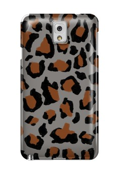 Funky Cheetah Print F Glossy Hard Case for Samsung Galaxy Note 3