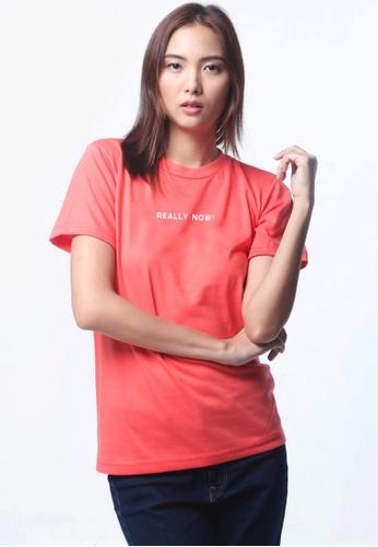 HYPE MNL orange Really Now Shirt 6ACF6AAFA4D59CGS_1