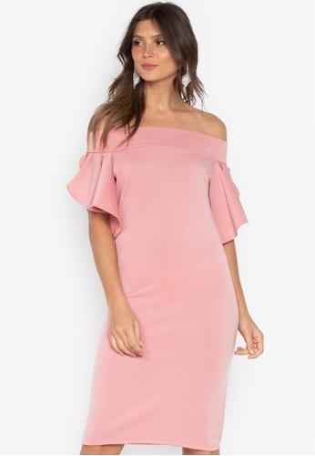 8de6f0865258 Shop Huxley Off Shoulder Dress Online on ZALORA Philippines
