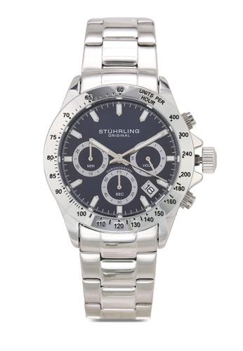 Stuhrling Original silver Monaco 3960 Watch EE342AC26E5DB9GS_1