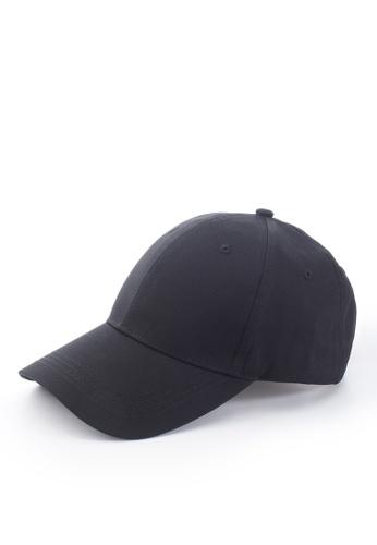 Life8 black Casual Plain Cap-05362-Black 13789AC5A98250GS_1