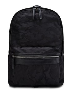 Camo Jacquard Backpack