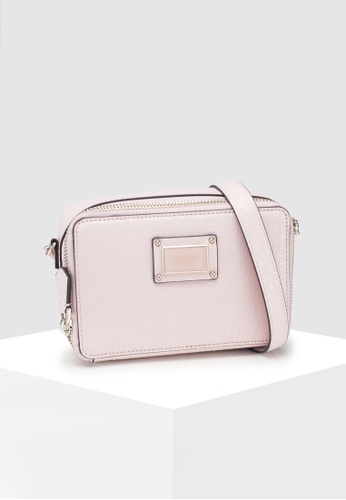 2bcaf5debc Guess pink Shannon Mini Crossbody Camera Bag 8B54AACF8351C5GS 1