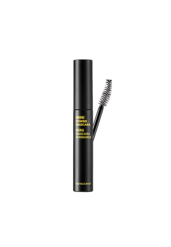 THE FACE SHOP black Mini Power Mascara 02 Curling B24FABE7487668GS_1