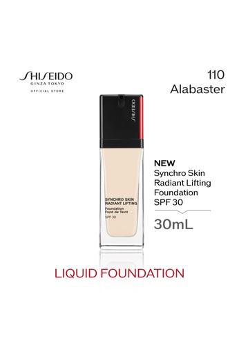 Shiseido beige Shiseido Synchro Skin Radiant Lifting Foundation - 110 Alabaster 6FDF5BE7123764GS_1