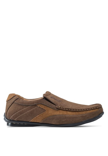 Louis Cuppers brown Classis Loafers LO977SH46ZKZMY_1
