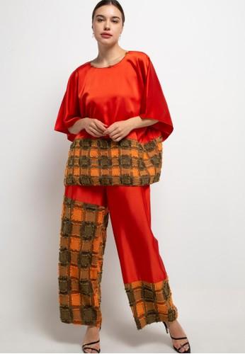 LUIRE by Raden Sirait orange FM Set Kulot LJSET 4F422AABB2521AGS_1