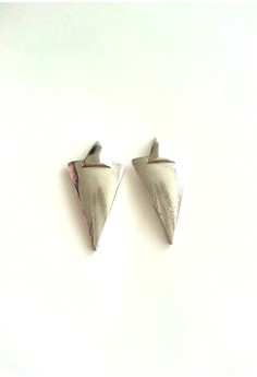 Triangle Silver Earrings