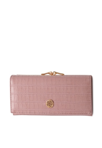 Wild Channel pink Ladies Long Purse 96205AC221A7E5GS_1