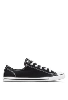 fa222a63ce538 Converse black Chuck Taylor All Star Dainty Ox Women Sneakers  CO302SH75YJKMY 1
