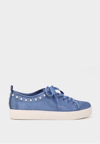London Rag blue Blue Pearl Lace Up Sneakers SH1587 42D84SH030BA53GS_1